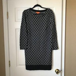 Joe Fresh printed sweater dress